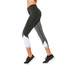 GERTU 2018 Women Casual Leggings Summer Fitness Legging New Arrival Ladies Plain Elastic Waist Patchwork Lnsert Pants