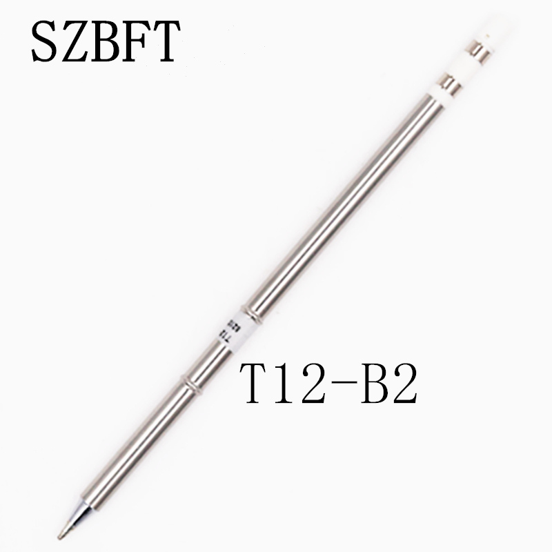 T12-B2 Series Soldering Iron Tips for HAKKO T12 Handle LED vibration switch soldering station