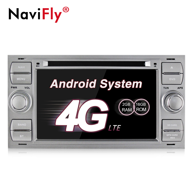NaviFly 7 Inch 2 din In Dash Android7.1 Car DVD Player For Ford/Mondeo/Focus/Transit/C-MAX With Quad Core 2GB RAM+16G ROMNaviFly 7 Inch 2 din In Dash Android7.1 Car DVD Player For Ford/Mondeo/Focus/Transit/C-MAX With Quad Core 2GB RAM+16G ROM