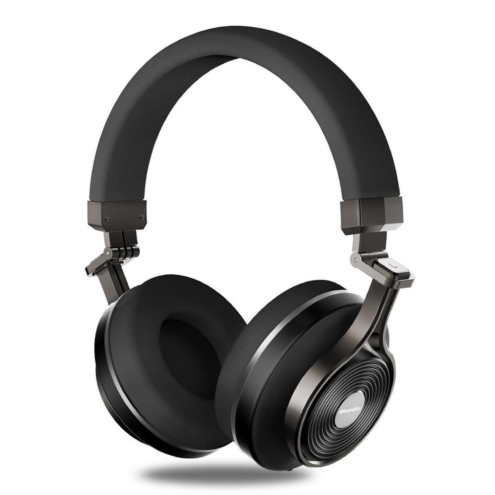 Suppression du bruit Bluetooth casque Bluedio T3 Plus sans fil Bluetooth casque stéréo sans fil écouteurs avec Microphone