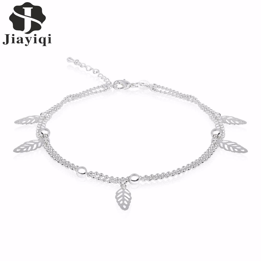 Aliexpress.com : Buy 2017 Women Silver color Anklet Bead