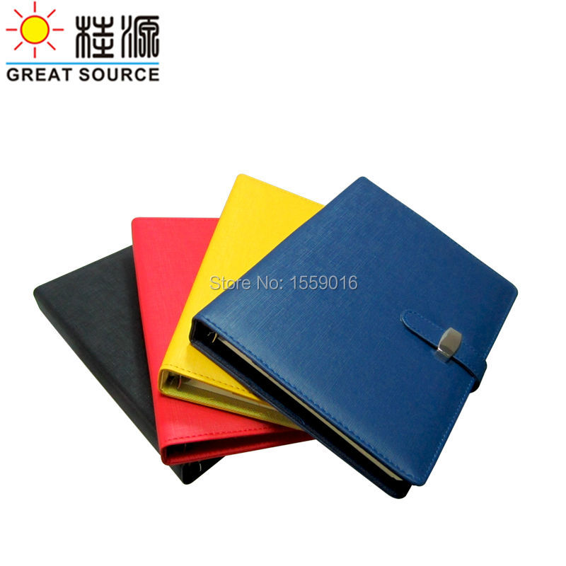Great Source B5 Notepad Binder Notebook Padfolio 2019 Agenda Planner Organizer great source notepad 9 rings binder leather cover b5 notebook 2019 calendar planner agenda