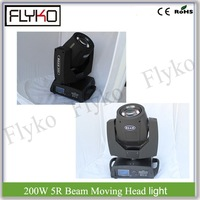 2pcs professional show lighting party equipment 200W moving head lights 5R beam light