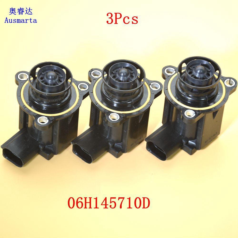 OEM 3 Pcs Turbo Cut off Valve For A4 TT A3 A5 Beetle Golf Jetta Passat GTI Diverter 06H145710D 06H 145 710 D
