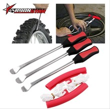 Motorcycle Tire Pick Up Spoon Iron Tool Kit Replacement