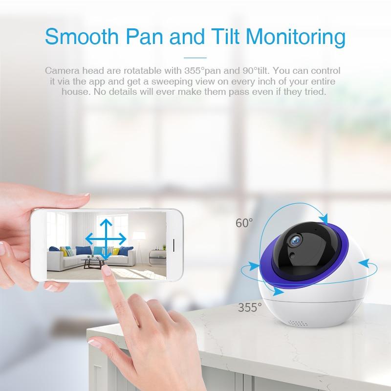 FREDI 1080P Surveillance Camera Intelligent Auto Tracking Cloud IP Camera Home Security Wireless WiFi CCTV Camera With Net Port