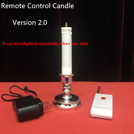 New Arrivals Remote Control Candle 2.0 by J.C Magic Stage Magic Tricks Illusions Party Magic Show Mentalism Magia Toys Joke 0 8mm dia yellow heat shrinkable tube shrink tubing 30m