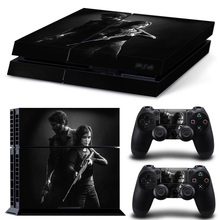 The Last Of Us Skin Sticker For PS4 Playstation 4 Console + 2 Controllers Vinyl Decal Protective Skins