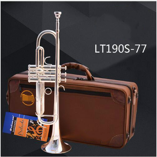Brand Trumpet LT190S-77 Silver Plated Surface Trumpete Small Brass Professional For Students Musical Instrument Trompeta цена