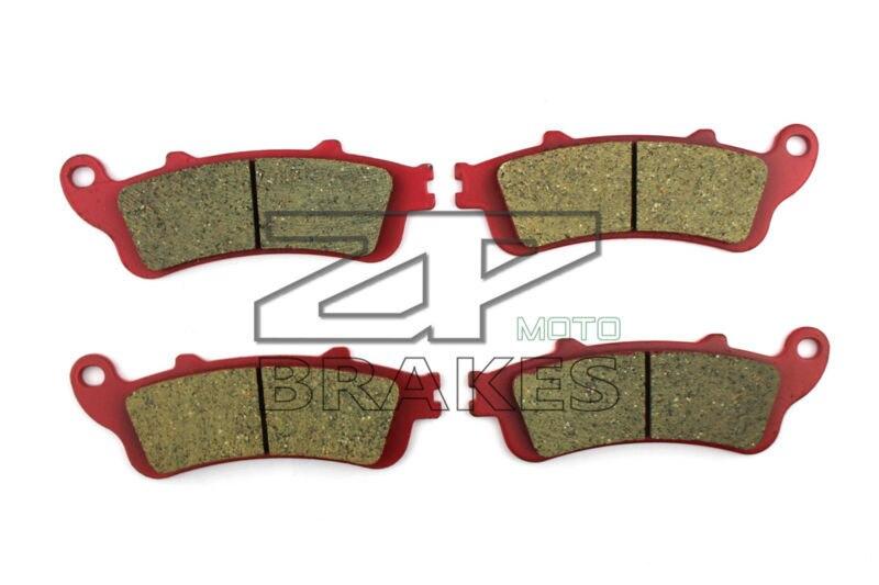 Motorcycle Brake Pads For HONDA 1800 NRX 2004, NT 650 V2-V3-V4-V5 2002-2005 F + R New Ceramic Composite High Quality ZPMOTO motorcycle brake pads ceramic composite for triumph 800 tiger 2011 2014 front rear oem new high quality zpmoto