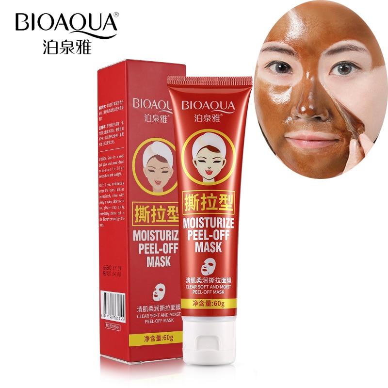 BIOAQUA odlupuje obličejovou masku pórovou čistou černou hlavu - Péče o kůži