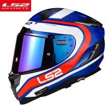 LS2 FF327 Challenger Glass fiber Motorcycle Helmet Double Sun lens Full Face Rac