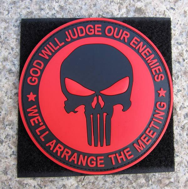 Punisher logo patch
