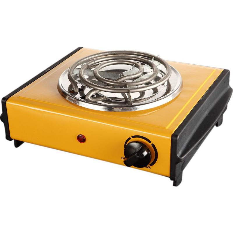 1000W Electric Stove Electrothermal Furnace Kitchen Cooker with Shape of Mosquito-repellent Incense Iron Burner 50 HZ Hot Plate
