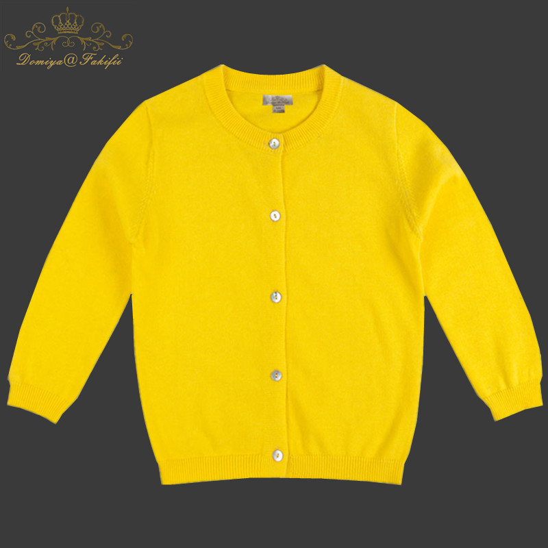 2018 Brand Fashion Baby Children Clothing Boys Girls Yellow Knitted Cardigan Sweater Kid Spring Autumn Outerwear Baby Clothing girl sweater knitted baby clothing 2018 winter children rhinestone sweater for girl yellow cardigan outerwear kid knitwear 2 10y page 4