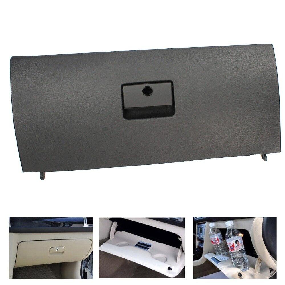 TAIHONGYU Noir Beige Gris Porte Couvercle Ordures boîte à gants Couverture Remplacer Voiture-Style pour VW GOLF JETTA A4 MK4 BORA 1J1 857 121 Un