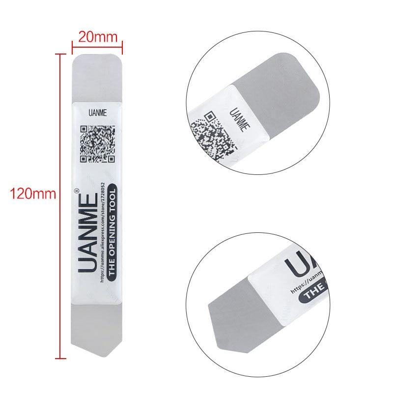 Купить с кэшбэком UANME 7PCS/LOT Universal Spudger Mobile Phone Repair Opening Tool  For iPhone Laptop Tablet Smartphone