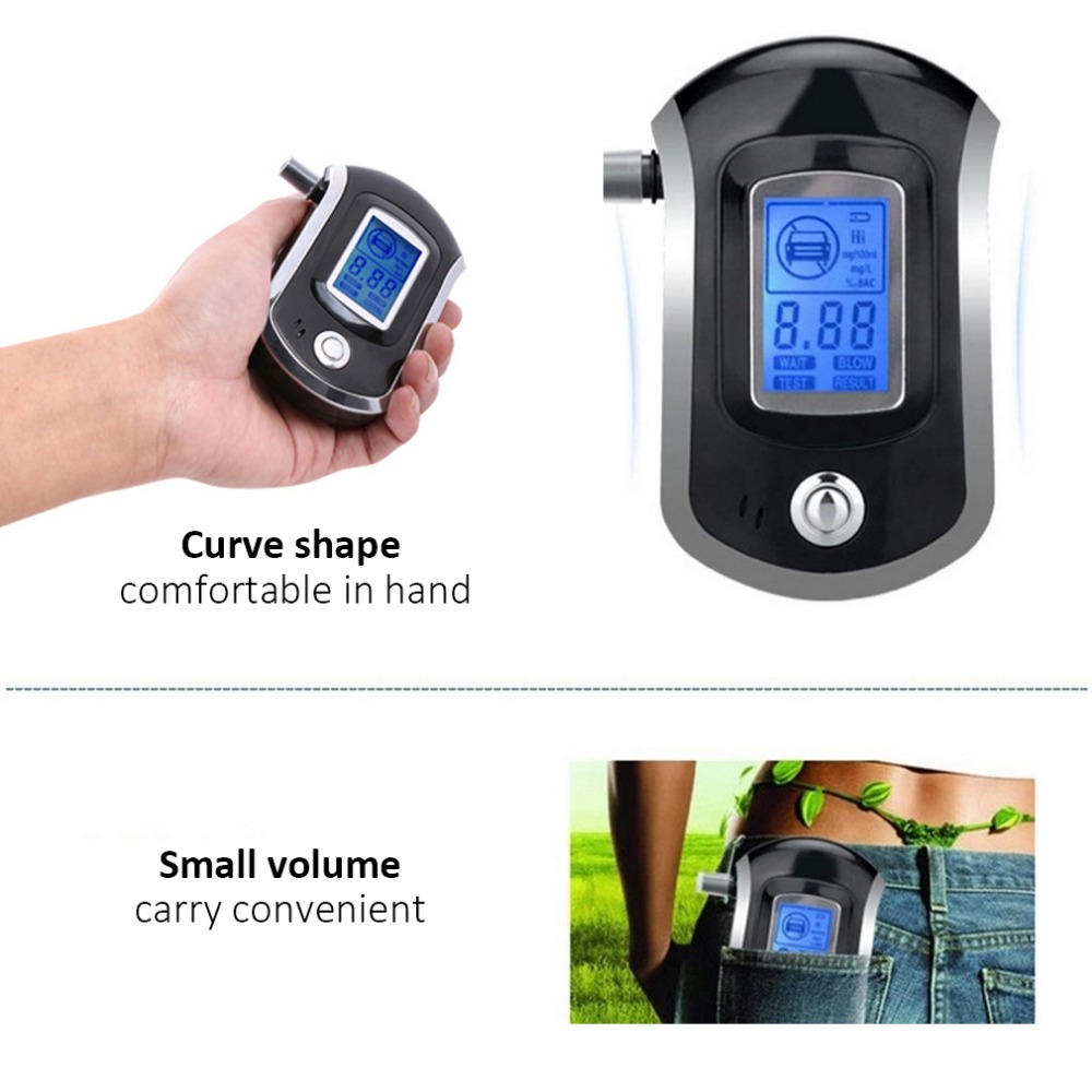 Electric Vehicle Parts Back To Search Resultsautomobiles & Motorcycles Strong-Willed Newat6000 Digital Breath Alcohol Tester Lcd Breathalyzer Analyzer With 5 Mouthpiece High Sensitivity Professional Quick Response Convenient To Cook