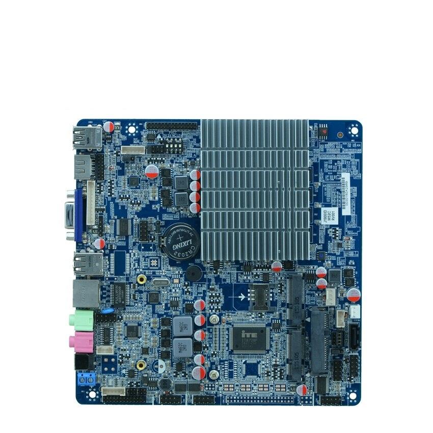 все цены на Celeron Processor J1900 motherboard with LVDS, Support 8G ddr3 mini computer motherboard, nano itx motherboard 2.0GHZ онлайн