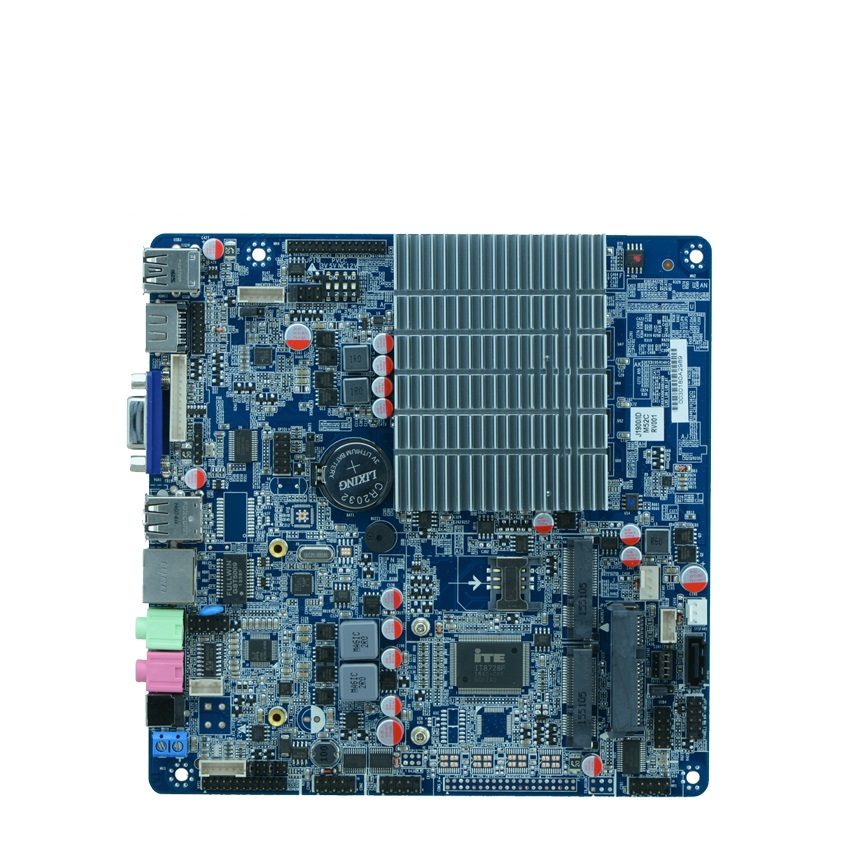 Celeron Processor J1900 motherboard with LVDS, Support 8G ddr3 mini computer motherboard, nano itx motherboard 2.0GHZ