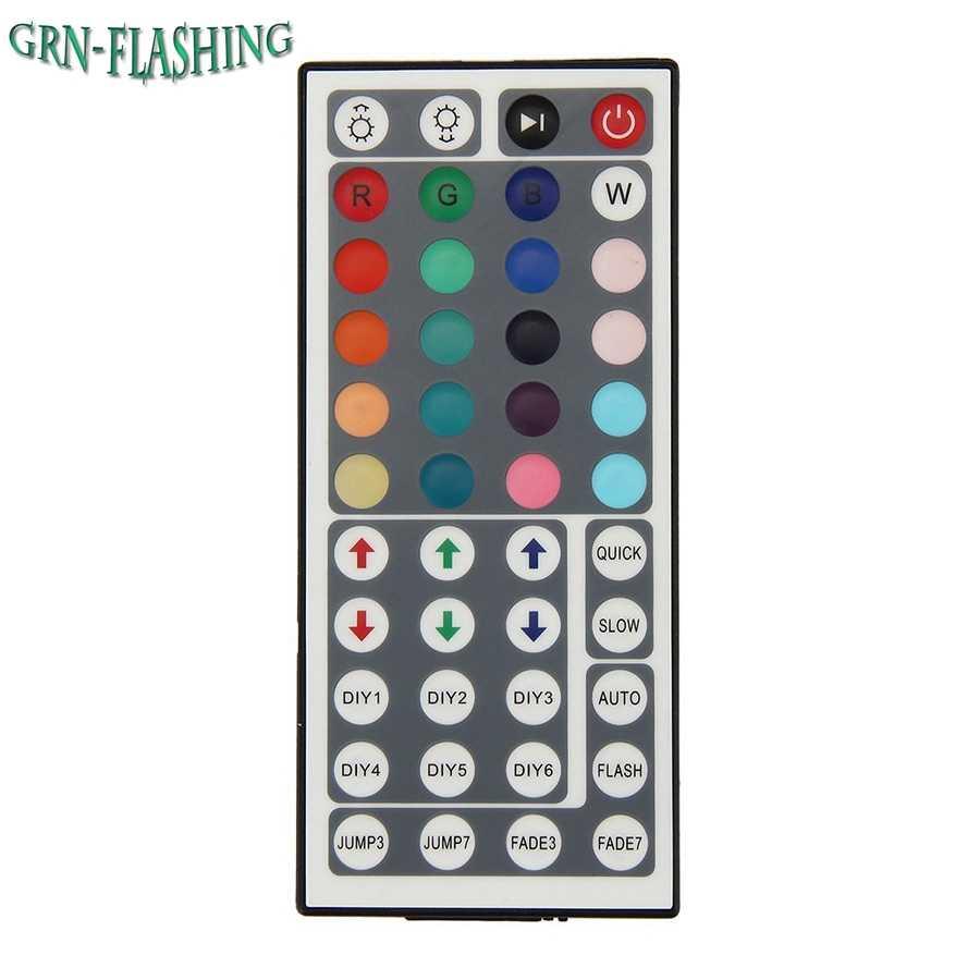 4 Булавки RGB Светодиодные ленты 5 В USB Powered Управление Лер с 44 Пуговицы ИК Дистанционное управление для смещения Освещение и ТВ подсветка