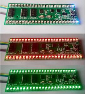 Image 2 - Rgb mcu調節可能な表示パターン24 led vuレベルインジケータ計デュアルチャンネル