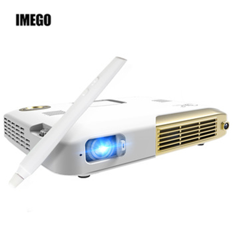 Mini Projector 4K 4096*2160 Resolution DLP  Video Projector Home Theater Business Office Portable Proyectores Led Full HD 1080p Проектор