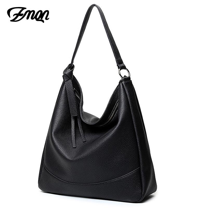 ZMQN Women Hobos Bags 2018 Womens Handbags Solid Black Big Capacity Fringe Casual Tote Bags Light Shoulder Top-Handle Bags A839 muse solid black fringe trim kimono