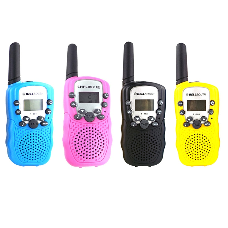 1pcs Ultra-distant  Intercom Electronic Walkie Talkie Kids Child Mni Toys Portable Two-Way Radio