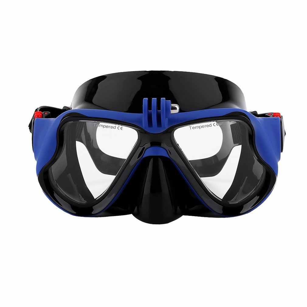 2019 Hot Professionele Onderwater Camera Duikbril Scuba Snorkel Zwembril voor GoPro Xiaomi SJCAM Sport Camera