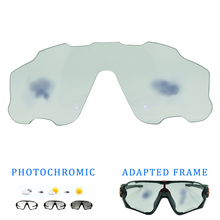 1PC Photochromic lens for cycling sun glasses color changing under ultraviolet light or purple
