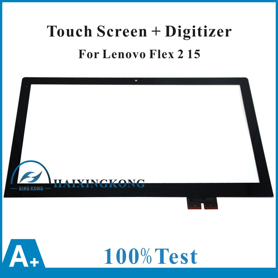 Free Shipping For Lenovo Flex 2 15 Flex 2 Pro 15 New Touch Panel Touch Screen Digitizer Glass Lens Replacement Repairing Parts 11 6 touch screen digitizer glass panel replacement repairing parts for sony vaio pro 11 svp112 series svp121m2eb svp11215pxb