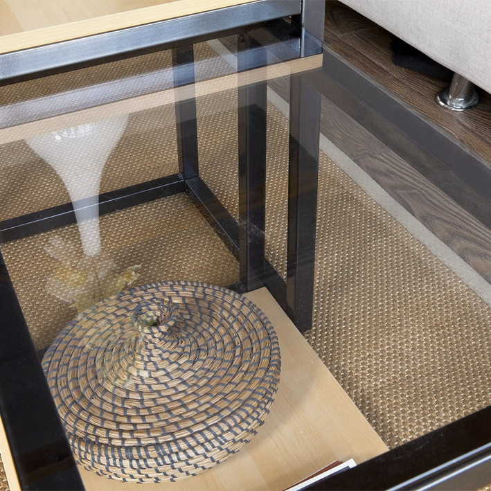 Modern Nesting Tables 2 Set Coffee Table 3
