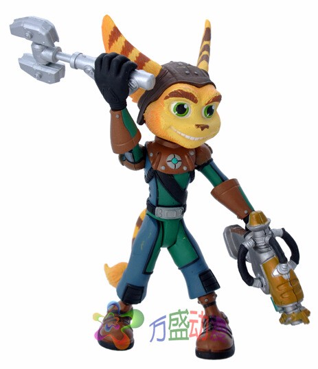 2017 Game Ratchet Clank 13cm Boxed Action Figure Toys Figure Toy