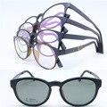 Atacado ULTEM aro completo com megnatic TJ001 clip on óculos polarizados óculos de lente removível caminhantes armações frete grátis