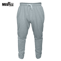 Mens Bodybuilding Skinny Pants Casual Sportwear Joggers Cotton Trousers Gyms Clothing Sweatpants