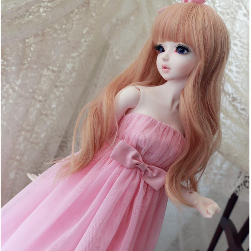 2015 Hot Sale SD BJD Doll Accessories Fashion Beautiful Clothing Gown 1/3 1/4 BJD Dress navy wind college wind dress for 1 3 1 4 bjd sd10 msd bjd sd doll clothes accessories