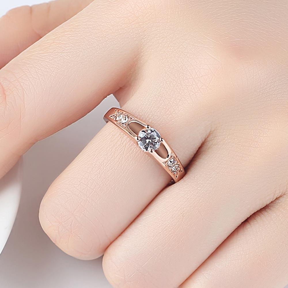 Cute Rose Gold Rings for Women
