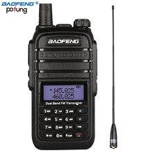 8W High Power DC7.4V 4800mAh Li-ion Battery 10 km Baofeng UV-B9 Walkie Talkie Dual Band Two Way Radio+One NA-771 Antenna