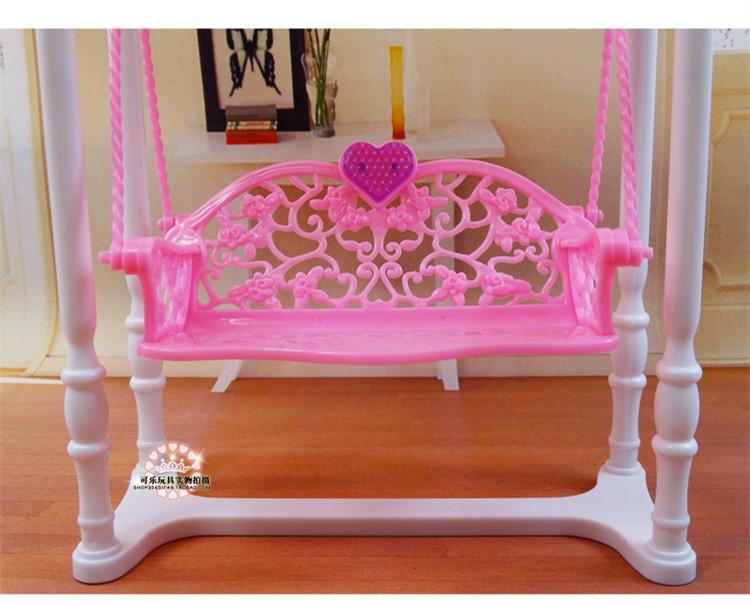 Girl birthday gift plastic Play Set Garden furniture, swing Gift Set ...