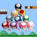 NEW Super Mario Плюшевые игрушки Куклы Фигура 10 цвета гриб мягкая игрушка украшения super mario bros детские игрушки