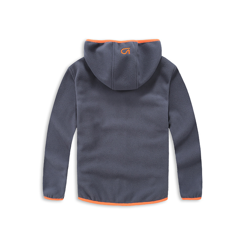 spring and autumn trendy boys sport hooded jacket kids outerwear fall 2017 new arrival kids polar fleece soft shell clothing 3