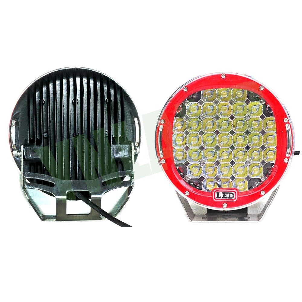 YNROAD 111w 9inch Կարմիր կլոր լուսադիոդային - Ավտոմեքենայի լույսեր - Լուսանկար 3