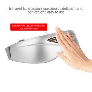 Image 3 - אינפרא אדום מחוות בקרת עיניים לעיסוי אלחוטי חשמלי עיניים לעיסוי מגנטי עיסוי רטט משקפיים עיני טיפול מכשיר P46