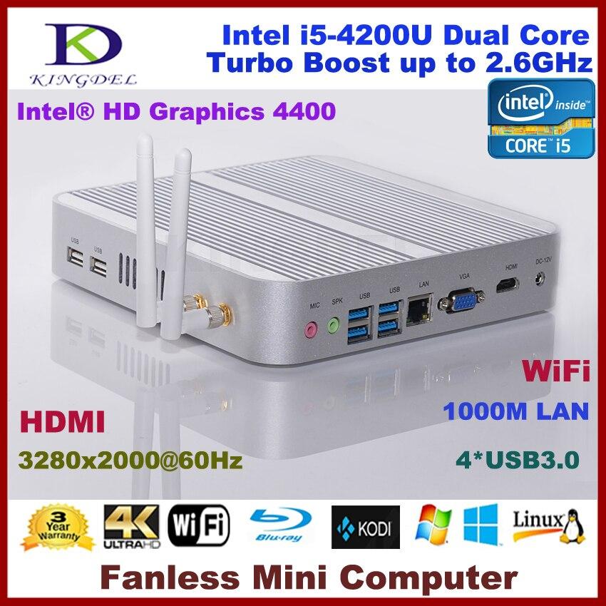 3280 * 2000 Mini pc, nube ordenador, 4 GB ram, 128 GB SSD 500 GB hdd, Intel i5-4