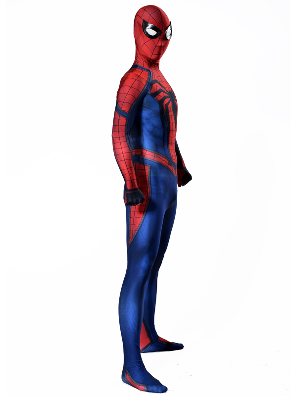 1 Amazing spiderman costume Ultimate Spiderman Costume Cosplay Halloween Superhero Costume Newest Fullbody spiderman Suit (4)