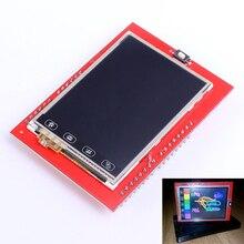 2.4 дюймов TFT ЖК-дисплей Сенсорный экран щит для Arduino UNO R3 mega2560 ЖК-дисплей модуль 18-бит 262,000 различных оттенков Дисплей доска