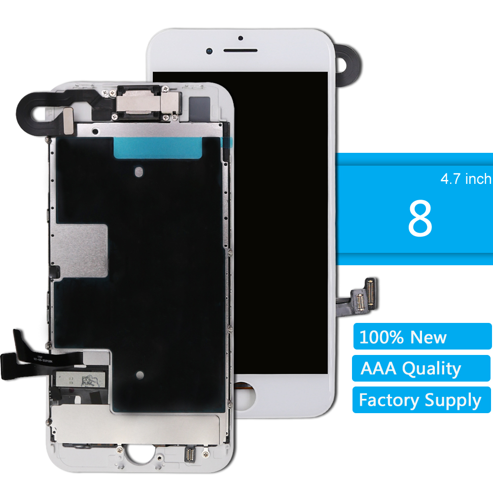 for iPhone 8 LCD Screen Digitizer Display Full Assembly for iPhone 8 3D Touch Screen Replacement Complete With Small Parts