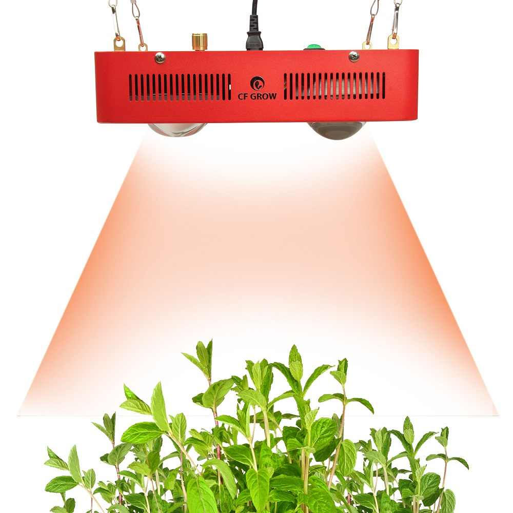 Luz LED de cultivo regulable de espectro completo 800W Citizen Bridgelux COB, invernadero hidropónico interior, iluminación de cultivo en todas las etapas