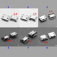 1x Micro USB Charging Data Power Jack Port charger Connector for Lenovo A1000 A1000-T A1020 A1020-T A2107 A2207 Tablet(China)